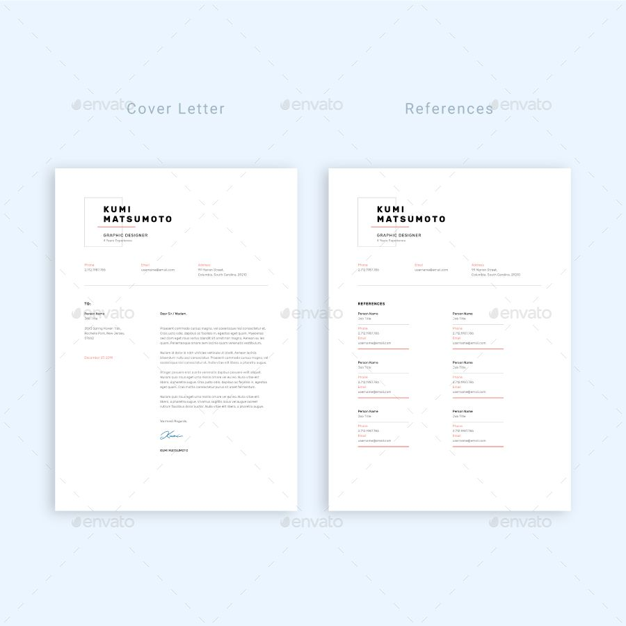 Resume Design Template, Resume Cv