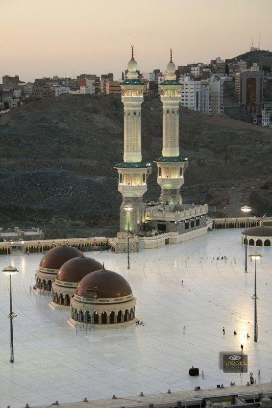Qiblah Lines On Roof Of Masjid Al Haram In Makkah Saudi Arabia Mekke