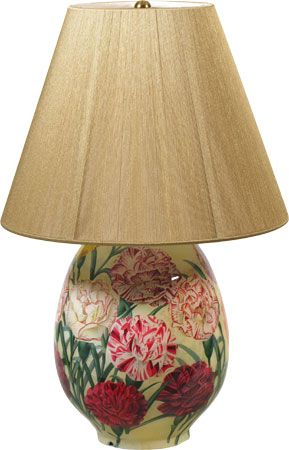 John Derian lamp. Wayyy out of my budget, but it's kind of fabulous.:)
