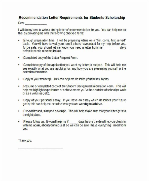 Recommendation Letter For Fellowship Luxury 89 Re Mendation Letter Examples Samples Doc P In 2020 Letter Of Recommendation Student Scholarships Cover Letter Template