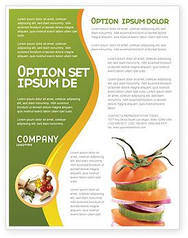 This Is A Flyer Template That I Have Just Liked At - Nutrition brochure template