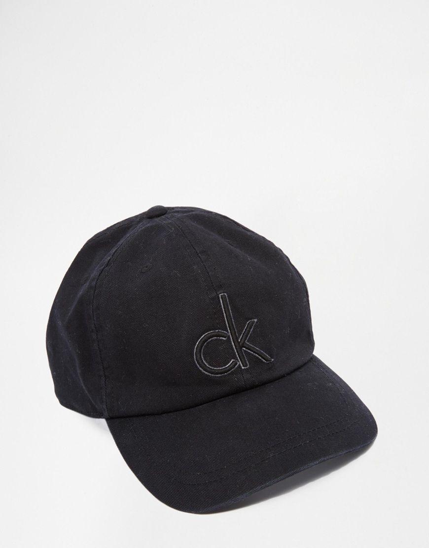 Image 1 of Calvin Klein Baseball Cap  682f40e4edf