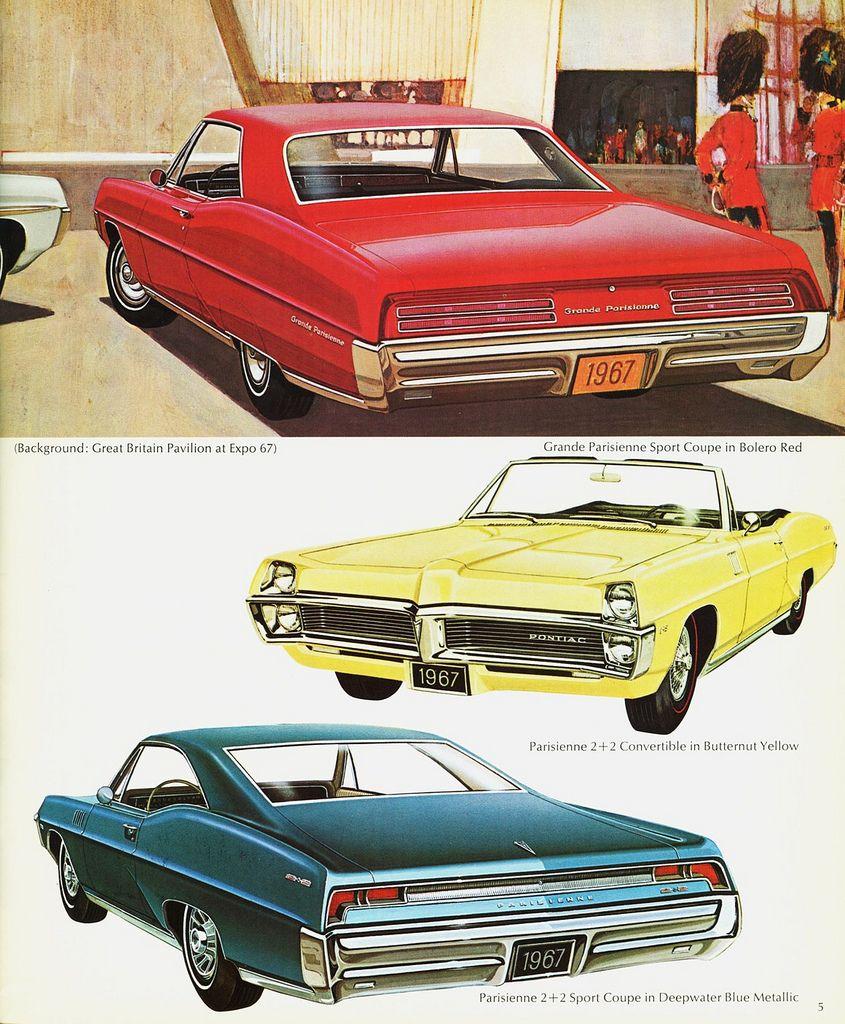 https://flic.kr/p/8891mT   1967 Pontiac Parisienne & Grande Parisienne…