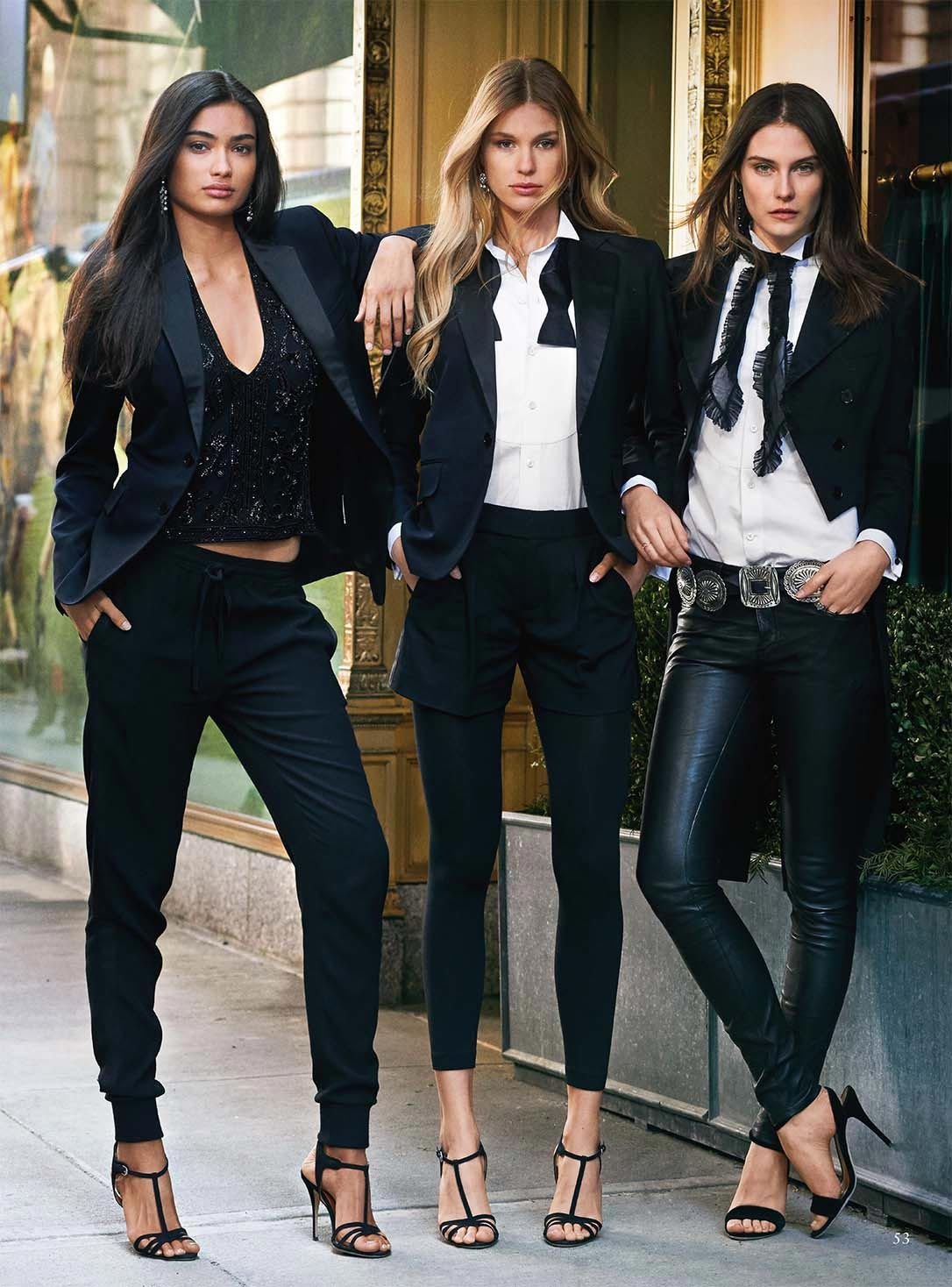 Kelly Gale for Polo Ralph Lauren Fall 2015 Campaign