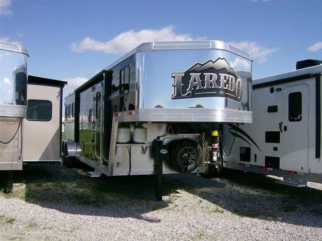Bison Trailer 2015 Laredo 7310 Slide Horse Trailer For Sale At Main Trailer Sales Llc Indiana Horse Trailers Trailer Recreational Vehicles