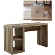 Better Homes And Gardens Cube Organizer Desk With Bonus Better Homes And  Gardens Collapsible Fabric Storage