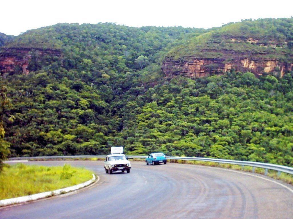 Serra de Taquarussu - TO - Brasil