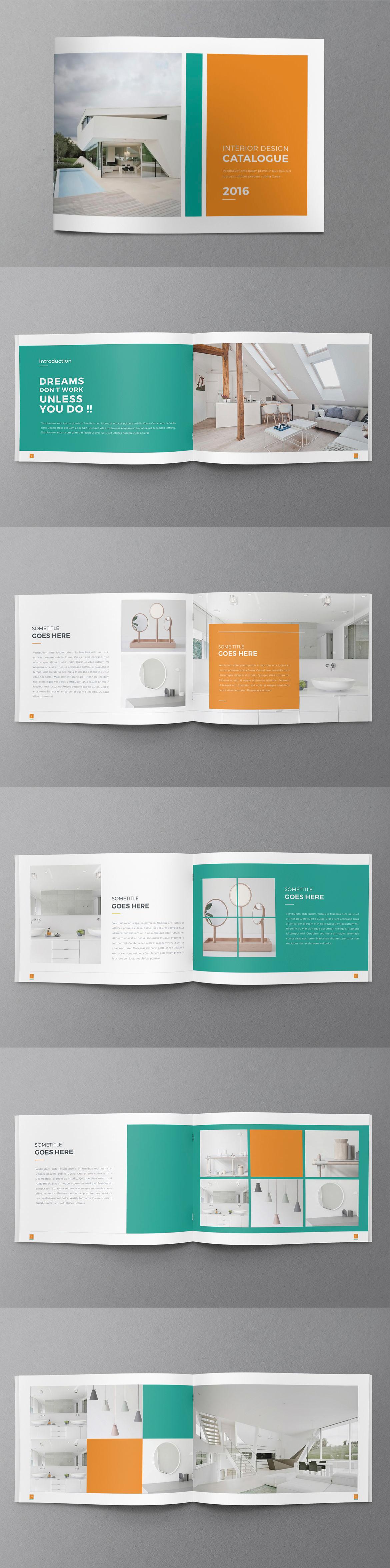 Clean Multipurpose Brochure - Catalog - Portfolio - Template InDesign INDD