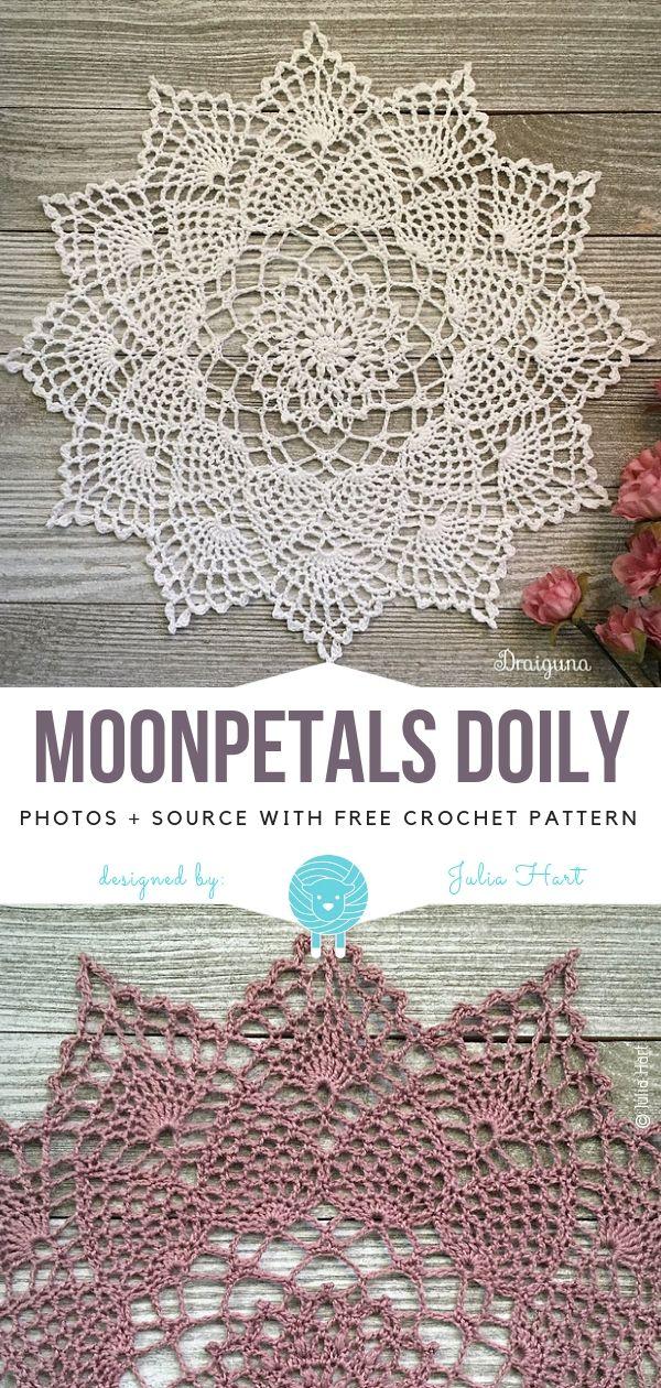 Magical Doilies Free Crochet Patterns