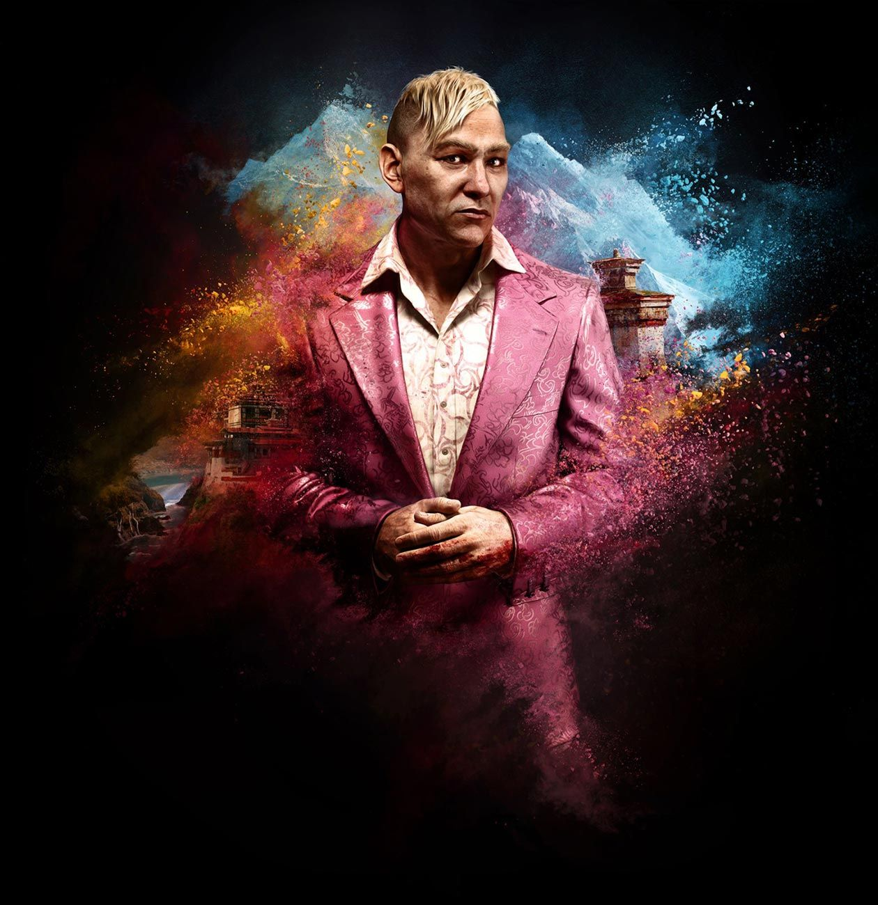 Pagan Min Concept Art Far Cry 4 Xbox One Xbox 360 Ps3 Ps4 Windows Far Cry 4 Pagan Video Game Posters