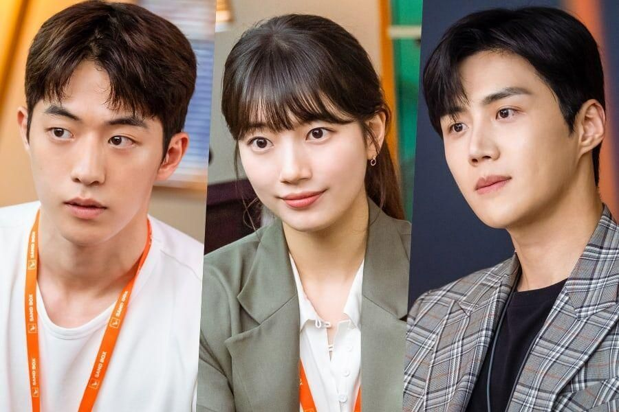 "Love Triangle Between Nam Joo Hyuk, Suzy, And Kim Seon Ho Builds In ""Start-Up"""