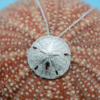 Southern atlantic sand dollar pendant 7500 cast from a real sand southern atlantic sand dollar pendant 7500 cast from a real sand dollar in sterling silver aloadofball Images