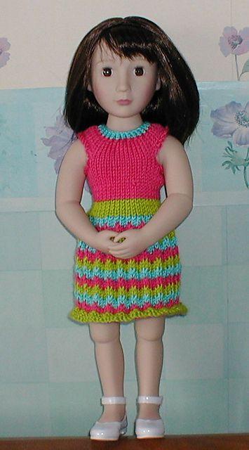 Ravelry: Candy doll dress pattern by Elena Anikina   DOLL - 18 ...