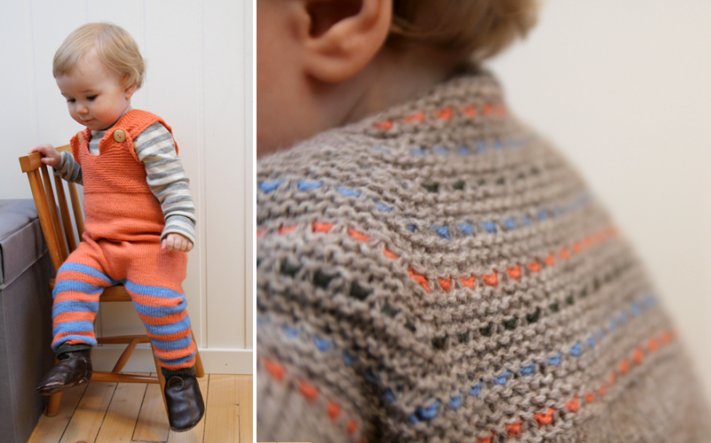 completo aranciogrigio | maglia | Pinterest | Bebé
