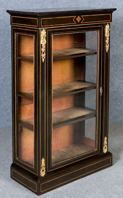 ebonised and inlaid pier cabinet | cool storage | pinterest | office