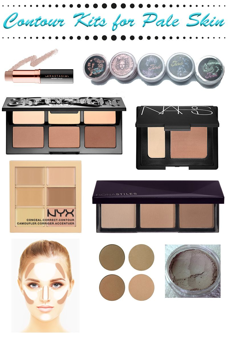 Contour Kits for Pale Skin Best contouring products