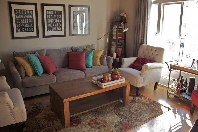 Minimalist Living Room Carpet Ideas