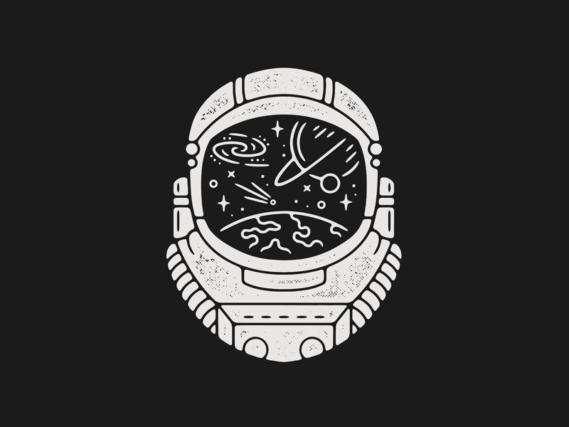 Astronaut in 2018 i n k pinterest dessin tatouage and graphisme - Dessin d astronaute ...