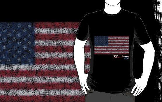 Ron Hedges Cracked Flag Essential T Shirt By Hedges Creations Hoodie Shirt Tshirt Colors Flag Tshirt