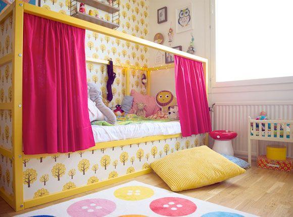 Ikea bed ikeabed hoogslaper omkeerbaarbed kleuter juniorbed