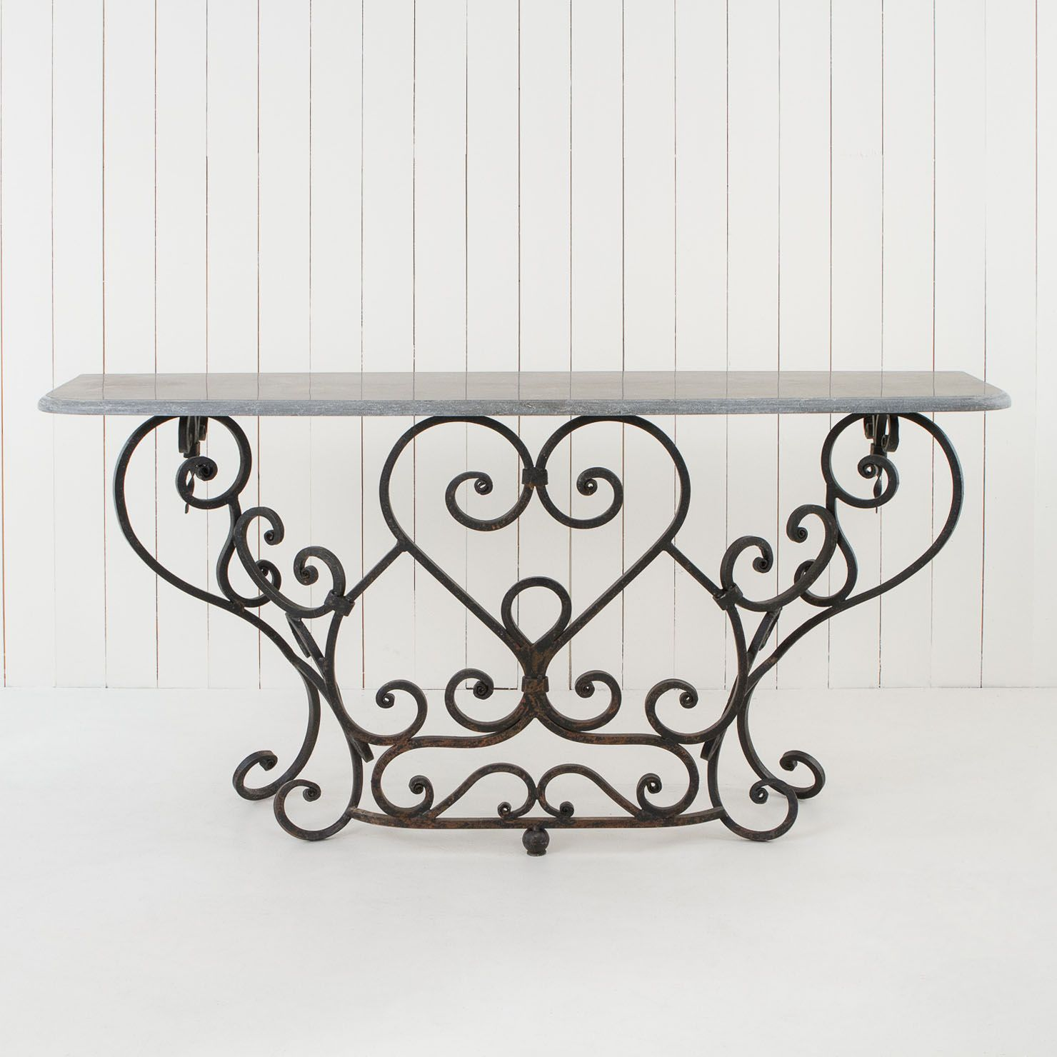 Pin By Ekaterina Aks On Furniture Wrought Iron Console