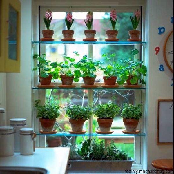 40 Smart Mini Indoor Garden Ideas Bored Art Window Herb Garden