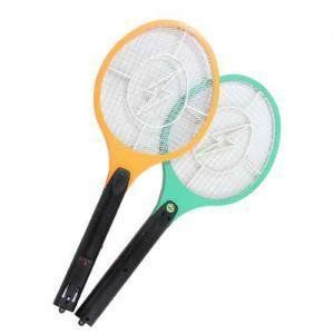 Electric Insect Bug Fly Mosquito Zapper Swatter Killer Net Racket Rechargeable - US$7.26