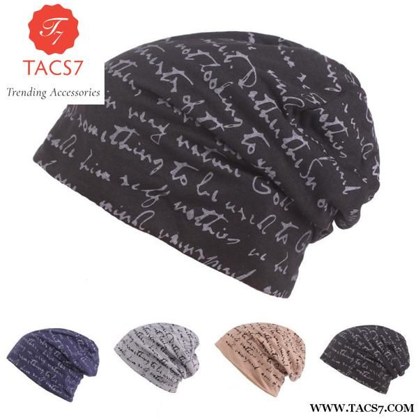 2125a0c41f9 Head Caps Mens Womens Baotou Autumn Winter Warm Hats Wholesale Wind Knitted  Riding Trending Accessories