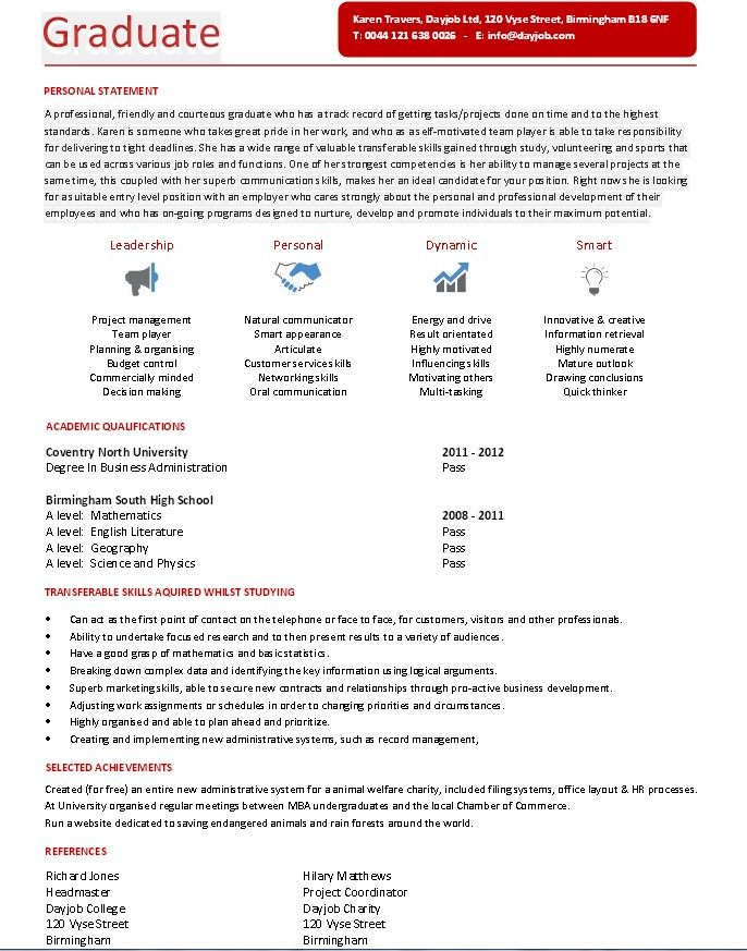 Resume Sample For Fresh Graduates Pdf (With images