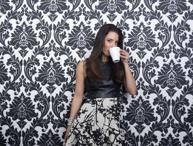 Hace una pausa Modelo de café de la bebida