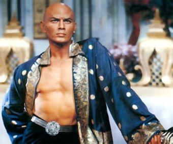 Yul Brynner in The King and I. Officially my first crush. I couldn't have been more than 4