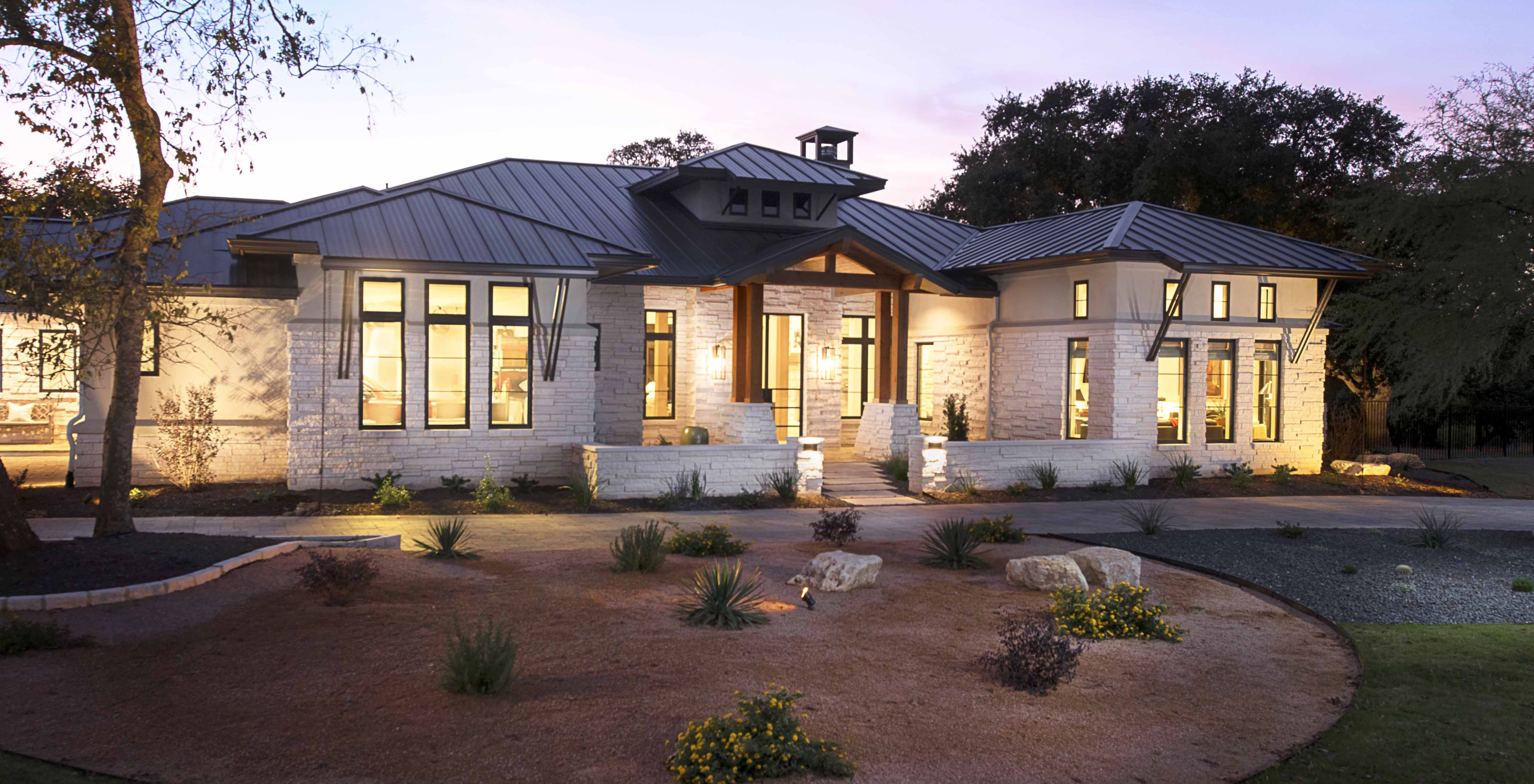 Hill Country Contemporary on Hamilton Pool 2