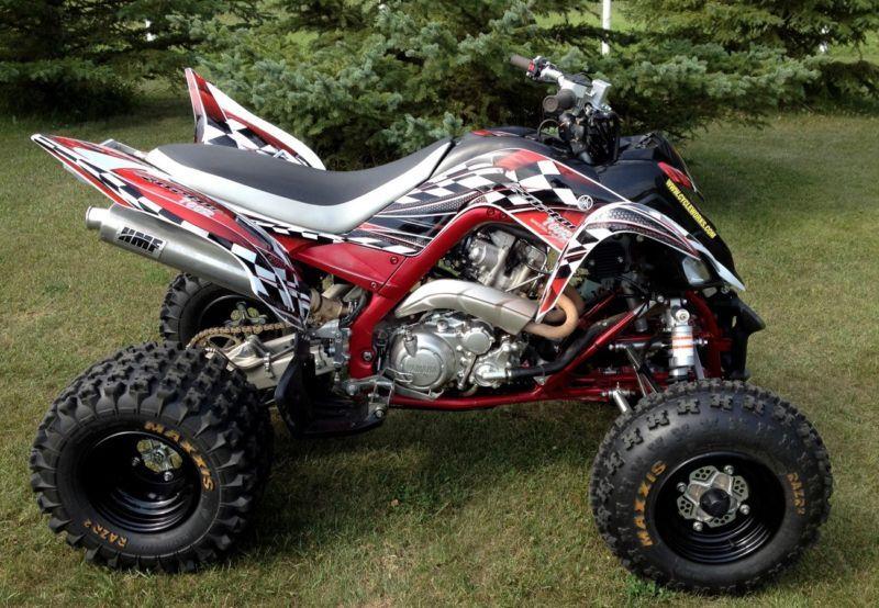Yamaha Raptor 700 graphics 2006-12 full coverage decal kit NO2500