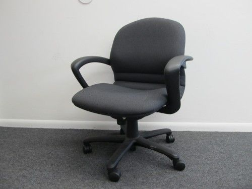 steelcase rally task chair with black fabric fixed arms and back only 50ea and - Steelcase Chairs