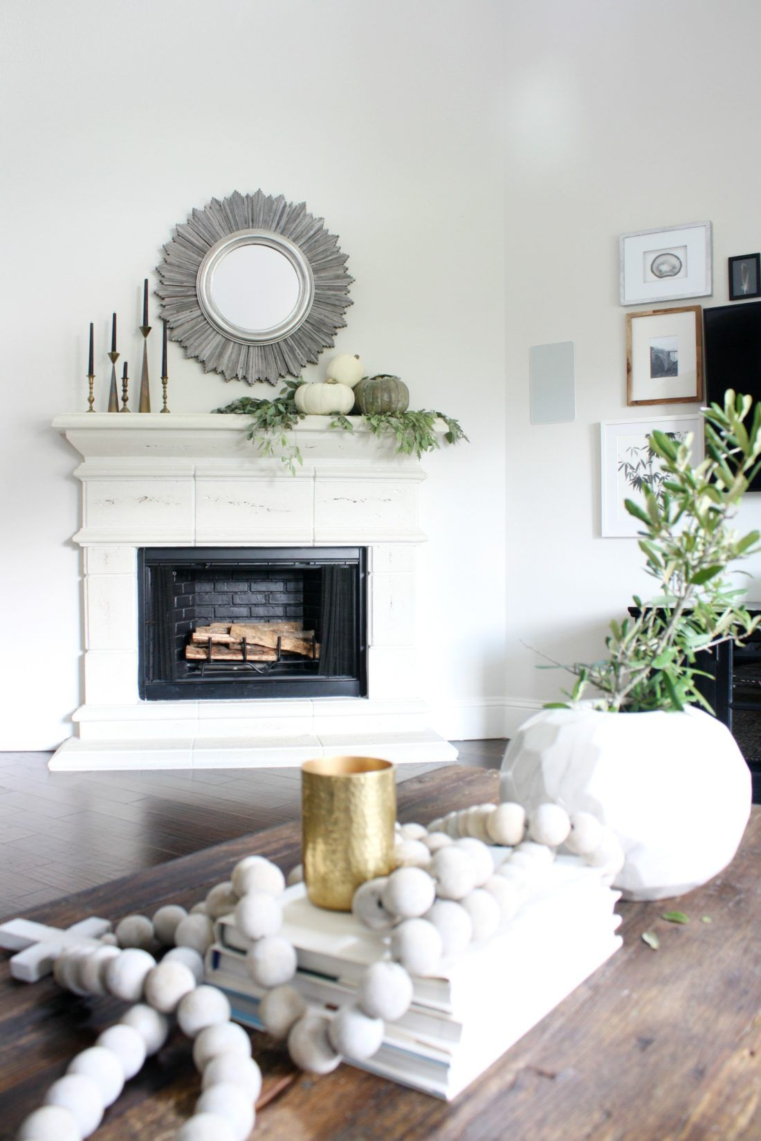 Fall Home Tour | Seasonal decor and Decorating