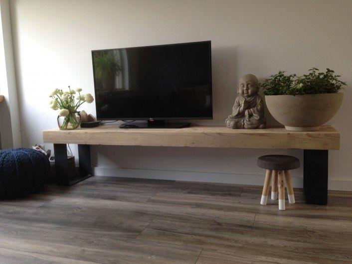Houten tv meubel houten televisie meubel dingen om te for Houten meubels woonkamer
