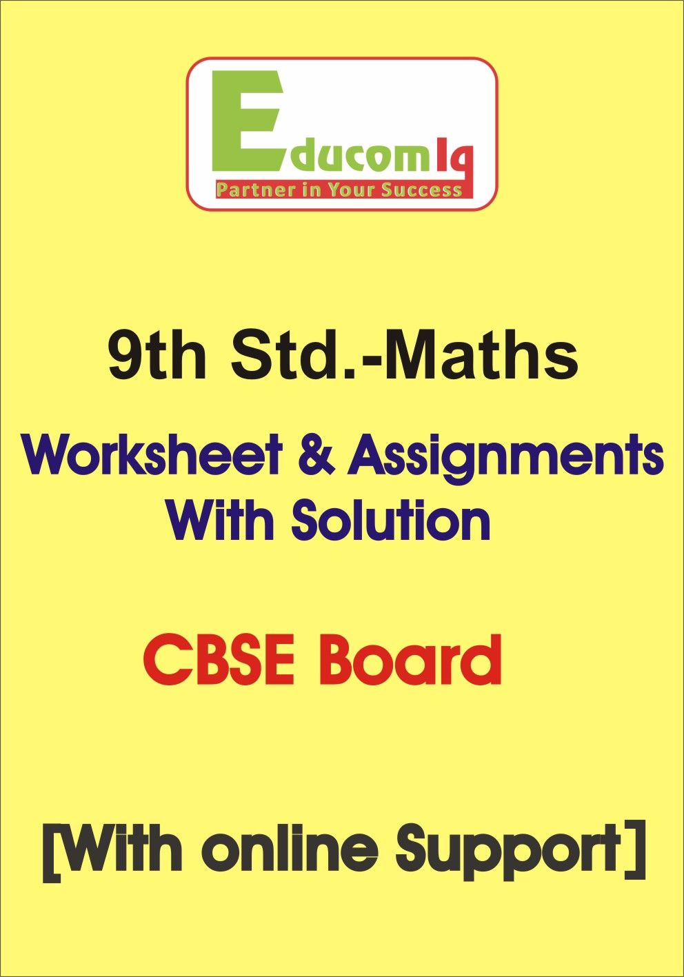 Worksheets Of Maths For Class Ixth Cbse Board In Booklet Form Math Quadratics Worksheets [ 1417 x 992 Pixel ]