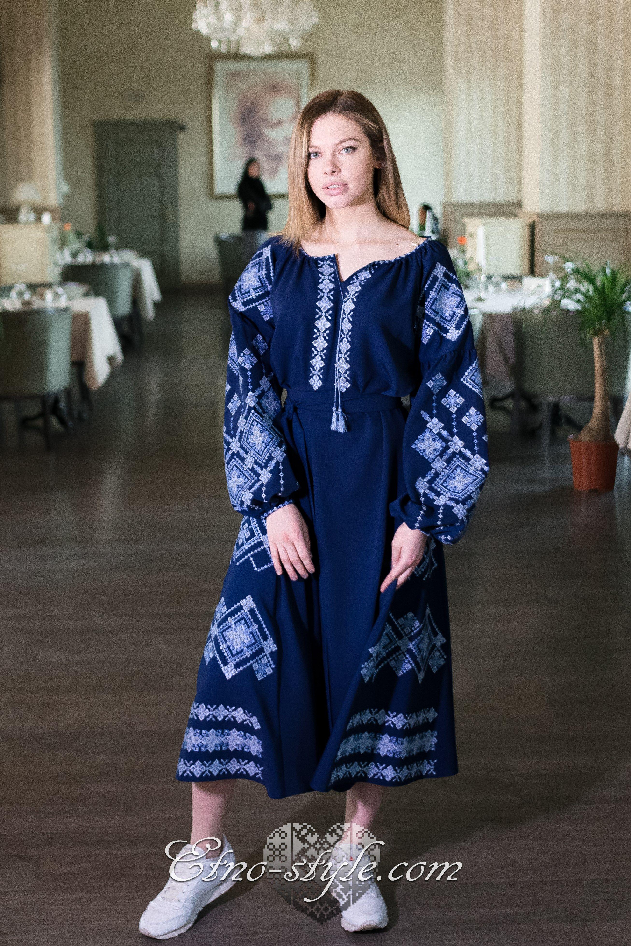 2650bf32a34592 Жіноче вишите плаття Грація/ etno-style | Вишиванка