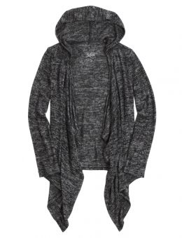 Hooded Waterfall Cardigan | justice for ivy | Pinterest | Clothes ...