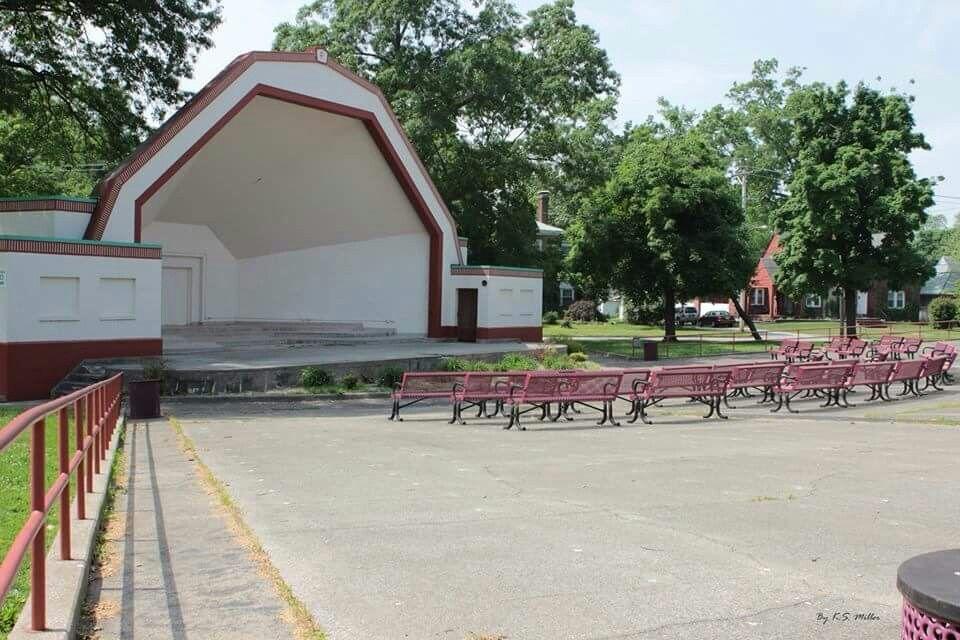 Bandshell Library Park Centralia Illinois Centralia Illinois