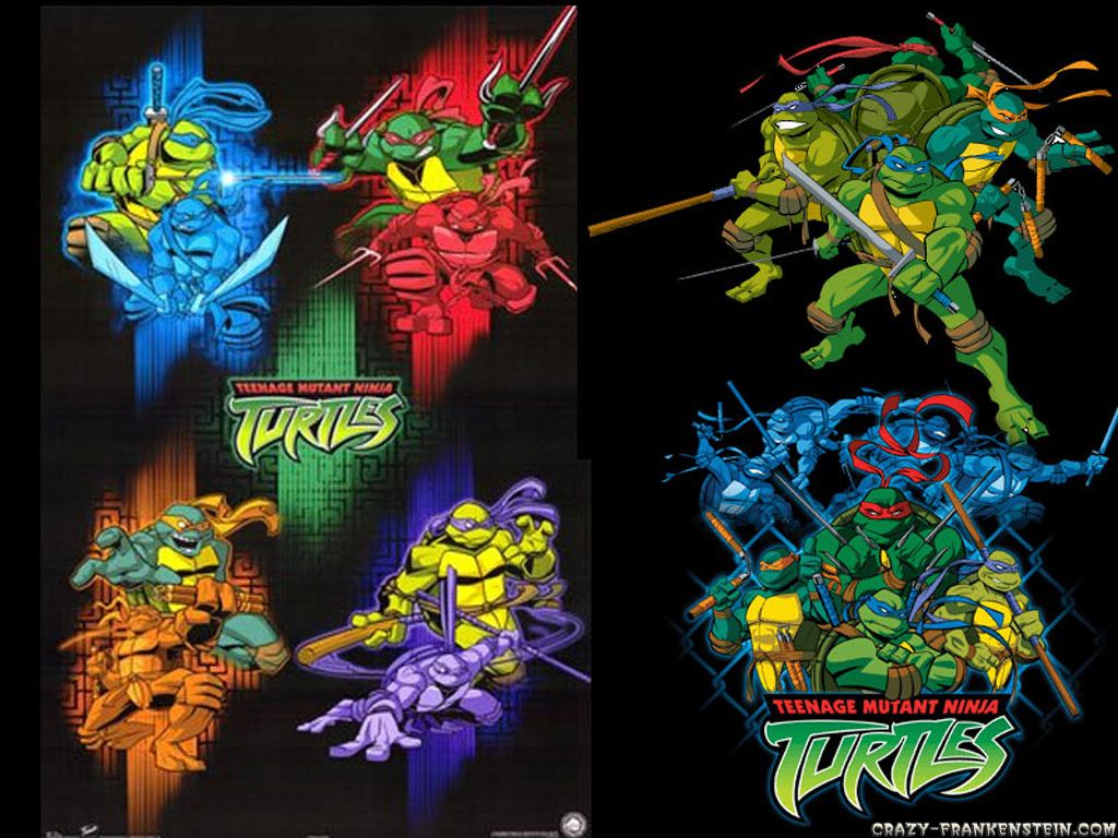 Teenage Mutant Ninja Turtles Cartoon Wallpapers