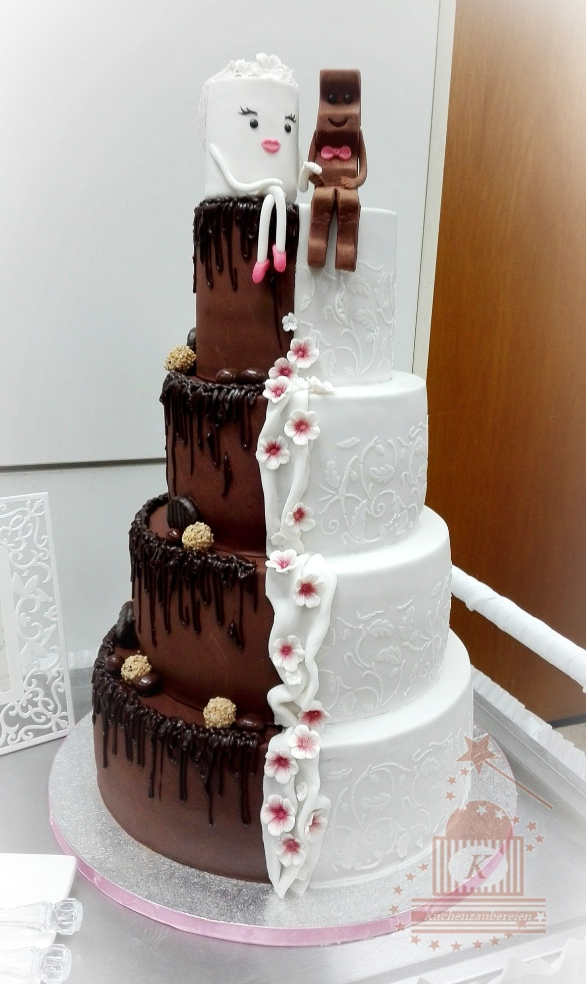Kinderschokolade Riegel Kuchen Wedding Cake Milky And Schoki Wedding Cakes In 2019