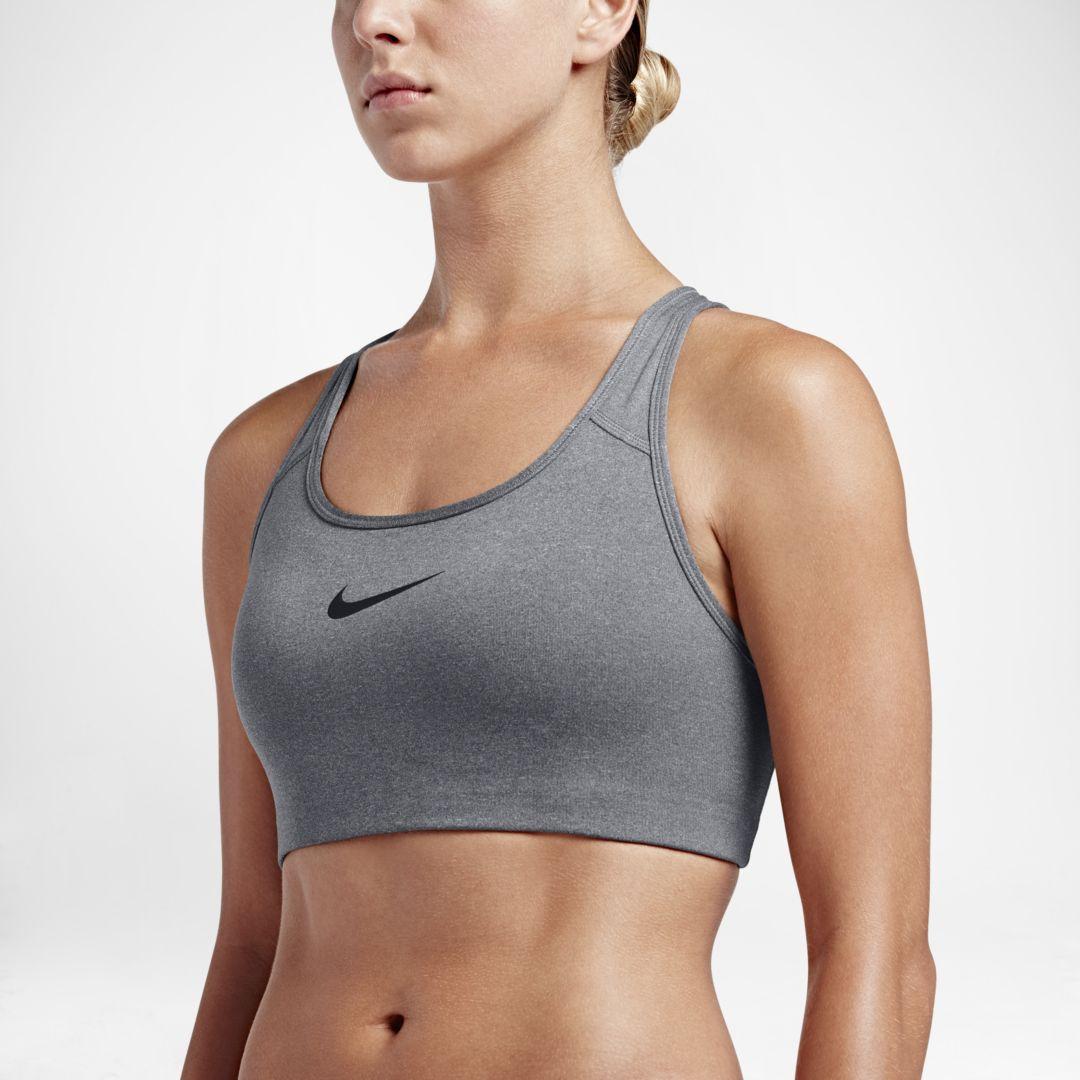 301959810f40c Nike Swoosh Women s Sports Bra Size XL (Carbon Heather)
