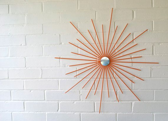 26 Inch New Handmade Steel Modern Starburst Sunburst Wall Art Metal ...
