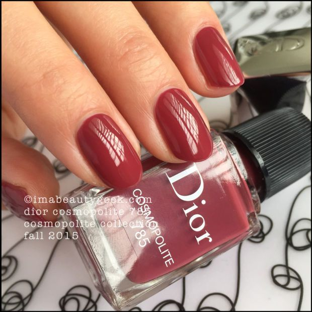 Best Spring Nail Colors 2015: DIOR FALL 2015 VERNIS WINS EVERYTHING
