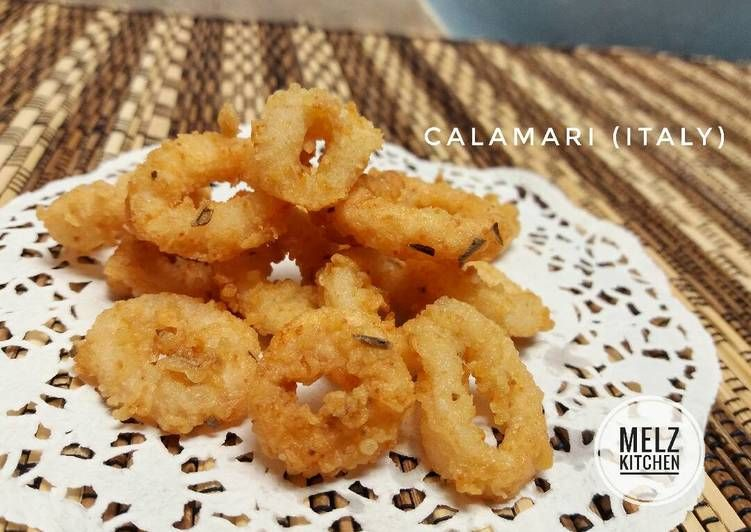 Resep Calamari Italy Oleh Melz Kitchen Resep Resep