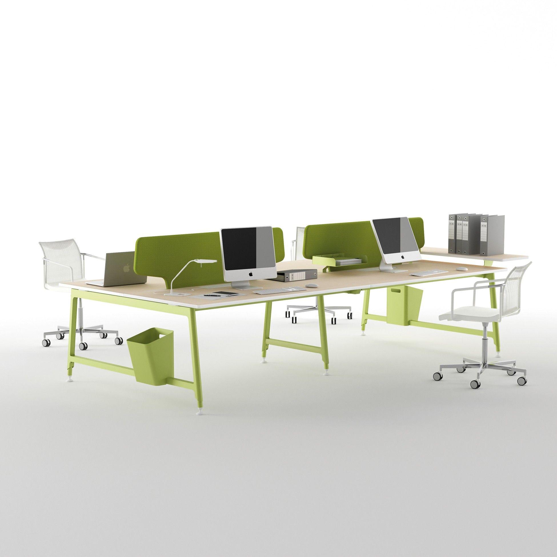 Bureaux Open Space Design New Color Escritorio Bureau