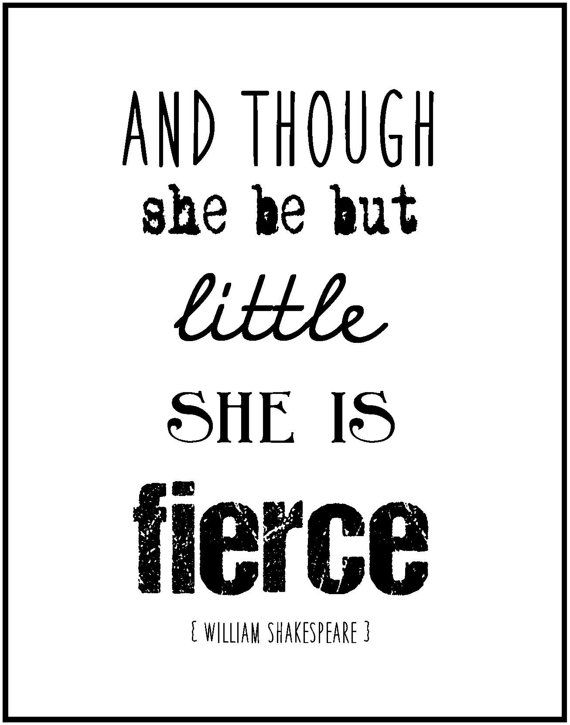 Shakespeare inspirational quote by JenniferDareDesigns, $8