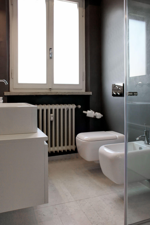 Progetti Di Ristrutturazione Bagno nuovo #bagno in #marmo biancone asiago. intervento di