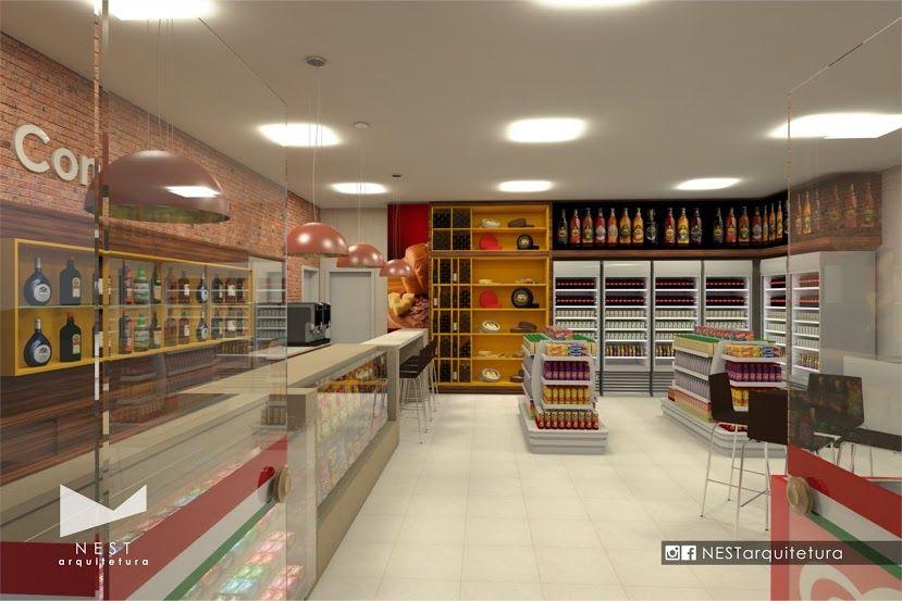 2|2 AUTO POSTO NOVA ITÁLIA - Estudo preliminar de Arquitetura de Interiores para loja de conveniência em Nova Itália, Urussanga - SC